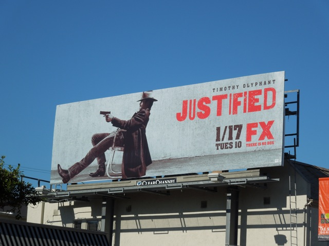 Justified season 3 billboard