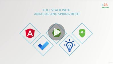Best Online courses to learn fullstack Java development
