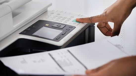 transmissao incompleta peticao fax invalido recurso