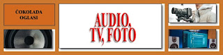* AUDIO, TV, FOTO - ČOKOLADA OGLASI