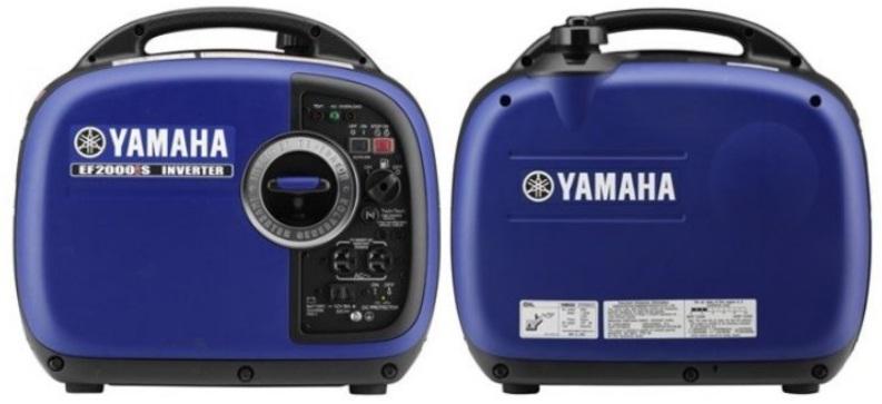Yamaha EF2000iS 2,000 Watt 79cc OHV 4-Stroke Gas Powered
