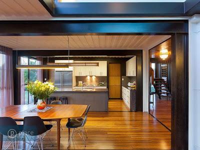 ห้องครัวในบ้านตู้คอนเทนเนอร์สวยๆ