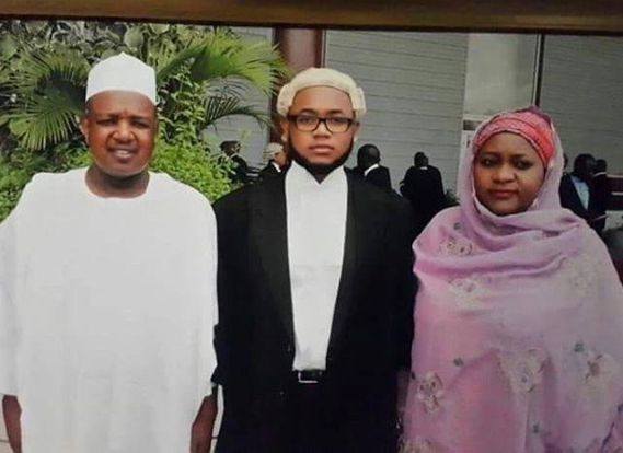Son of Kebbi State Governor, Abubakar Bagudu called to Nigerian Ba