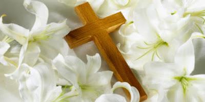 imagem da cruz de Cristo dia de finados