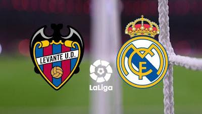 مباراة ريال مدريد وليفانتي real madrid vs levante بين ماتش مباشر 30-1-2021 والقنوات الناقلة في الدوري الإسباني