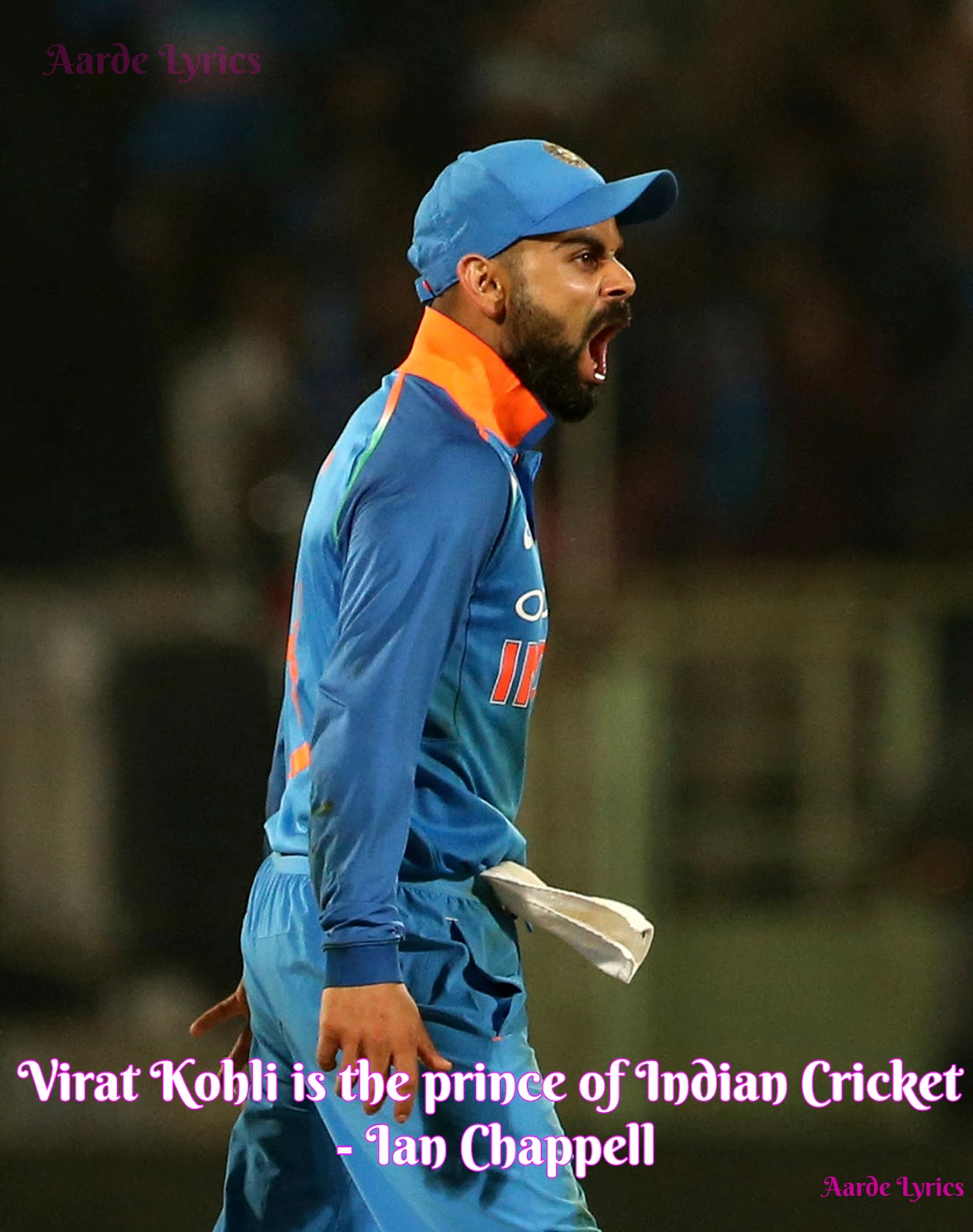 top quotes on virat kohli aarde lyrics