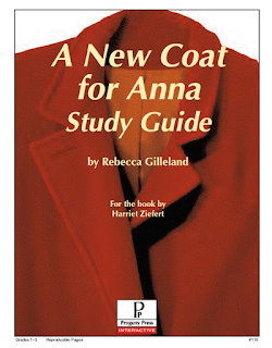 A New Coat for Anna Study Guide Cover