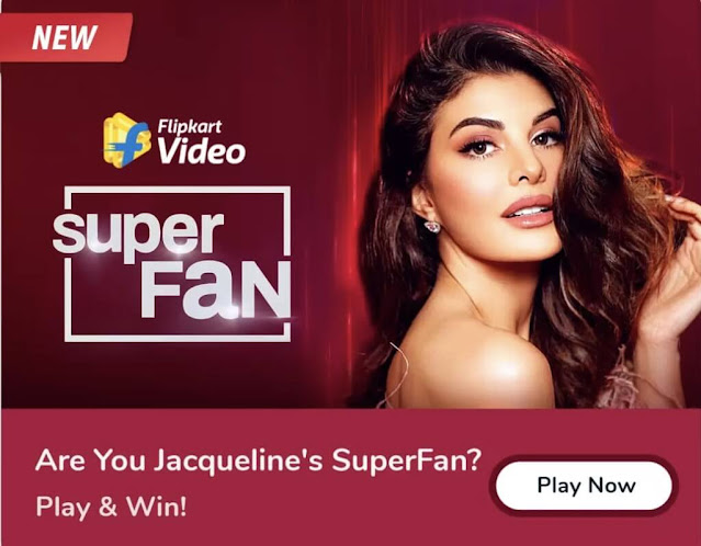 Flipkart Super Fan Jacqueline Fernandez