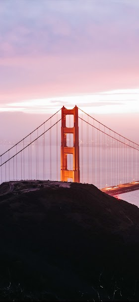 Golden gate bridge in san francisco city wallpaper