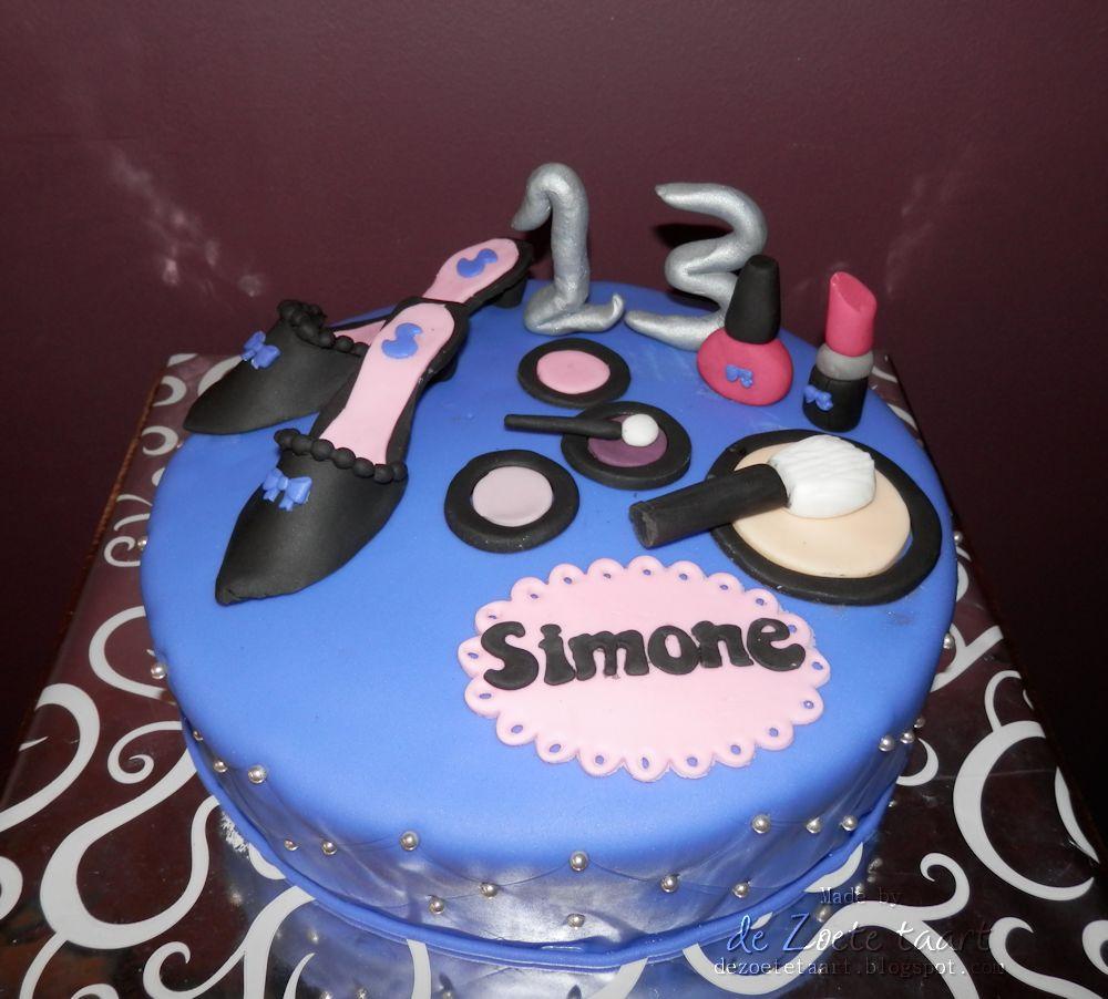 Zeer De zoete taart: Make-up taart #RG38