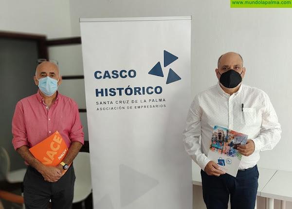 Casco Histórico cierra un convenio para el transporte y entrega en domicilio de las compras realizadas en empresas de S/C de la Palma