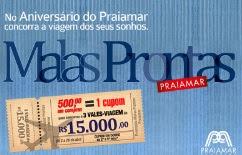 Promoção Shopping Praiamar Aniversário 2017 Malas Prontas