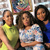 BBNaija: Nina Pictured On Movie Set With Popular Actresses Ruth Kadiri And Moyo Lawal (Photo)