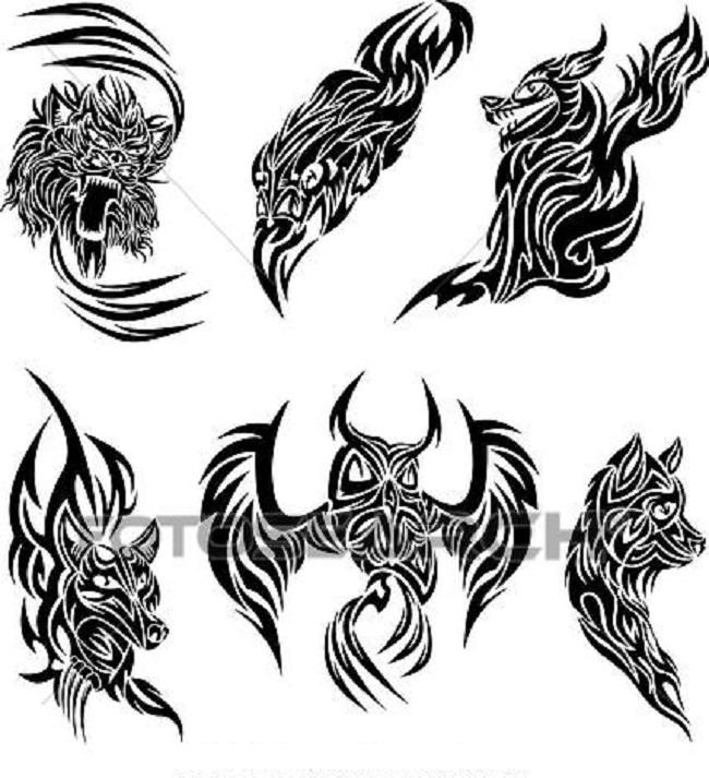 Desenhos De Animais Para Tatto Tribal