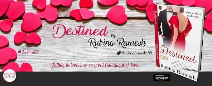 New Blog Tour: Destined by Rubina Ramesh