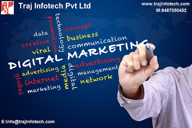 Best Digital Marketing Company in  Ahmedabad - Traj  Infotech