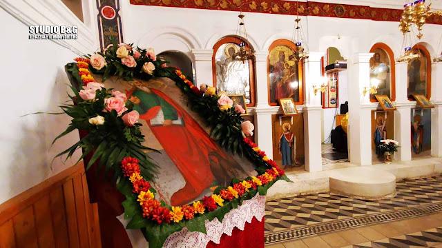 Πανηγυρίζει το εκκλησάκι του Ι. Καποδίστρια στο Ναύπλιο (βίντεο)