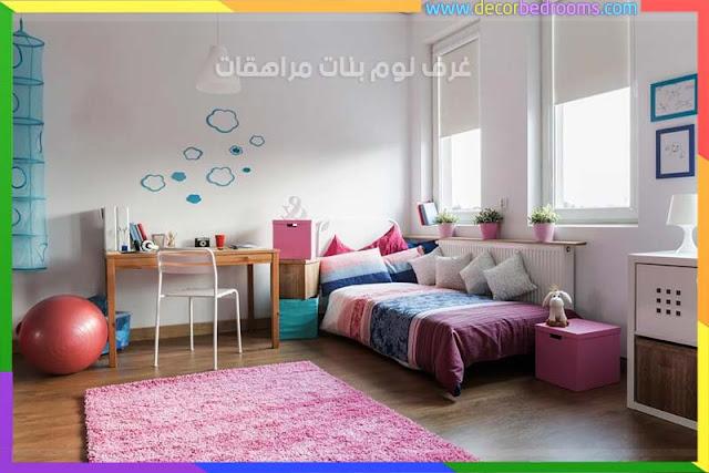 أفكار تنظيم غرف نوم الفتيات