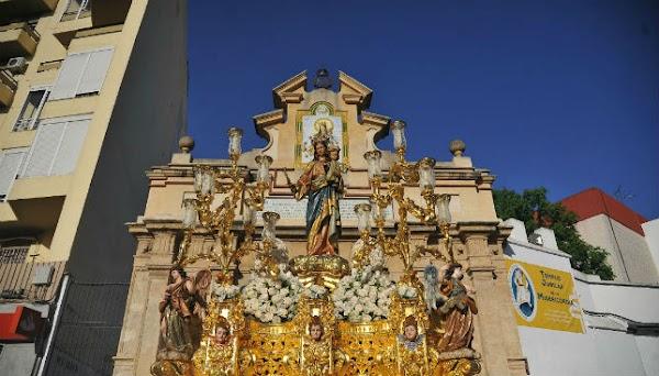 Horario e Itinerario Salida procesional de San Juan Bosco y María Auxiliadora de la Trinidad hoy en Sevilla