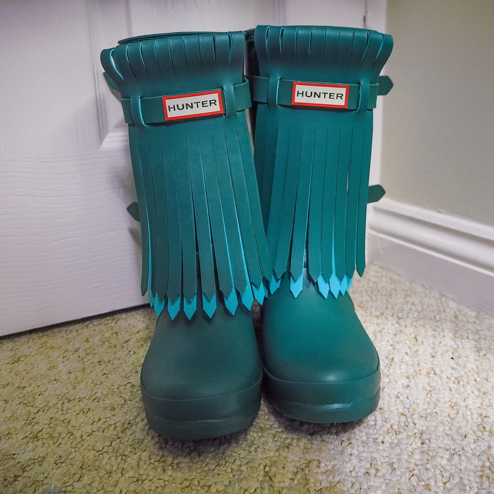Fringed Hunter wellies