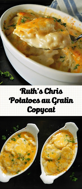 Ruth's Chris Potatoes au Gratin Copycat