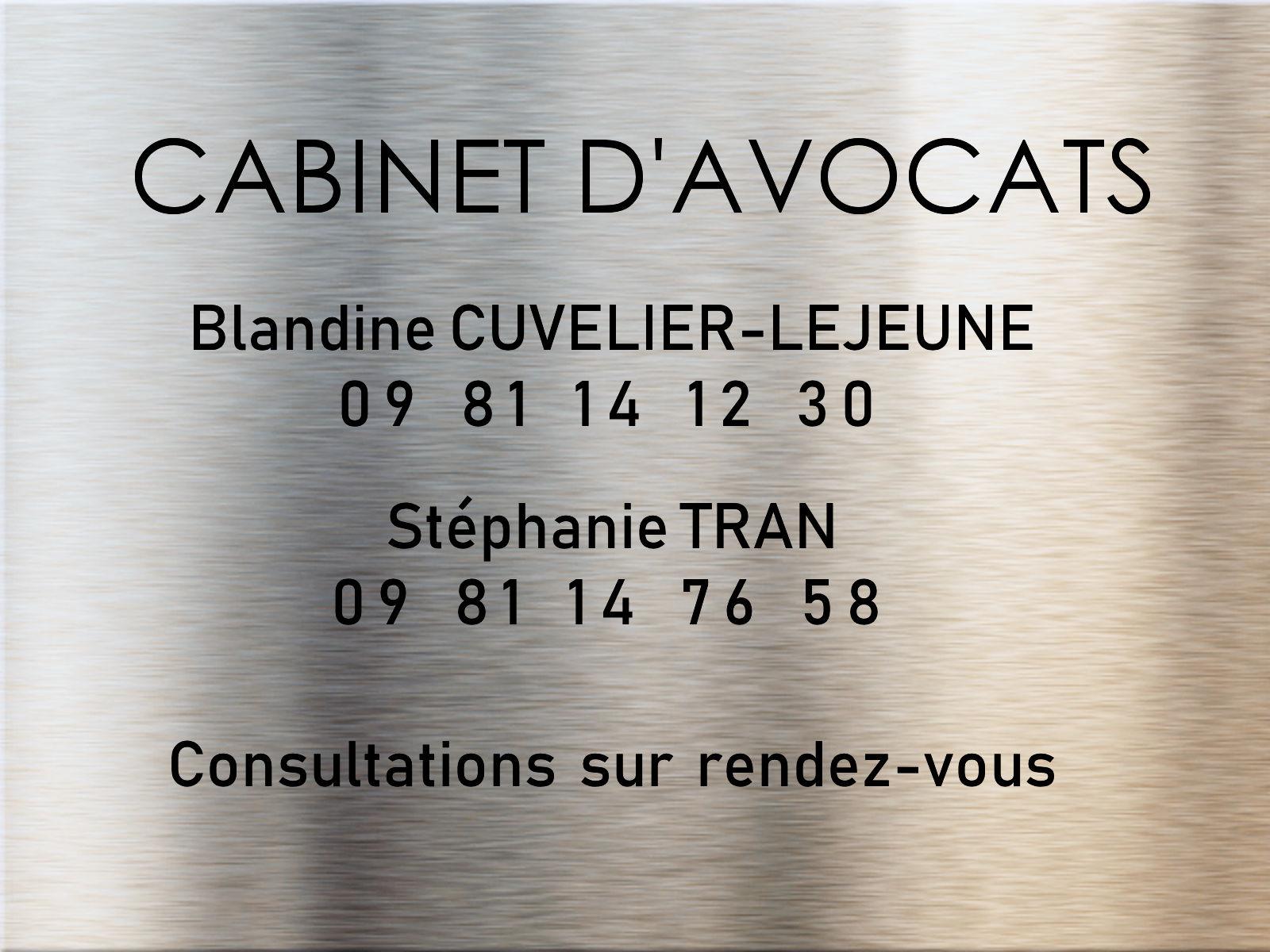 Avocates Cuvelier-Lejeune et Trans - Tourcoing, rue Chanzy