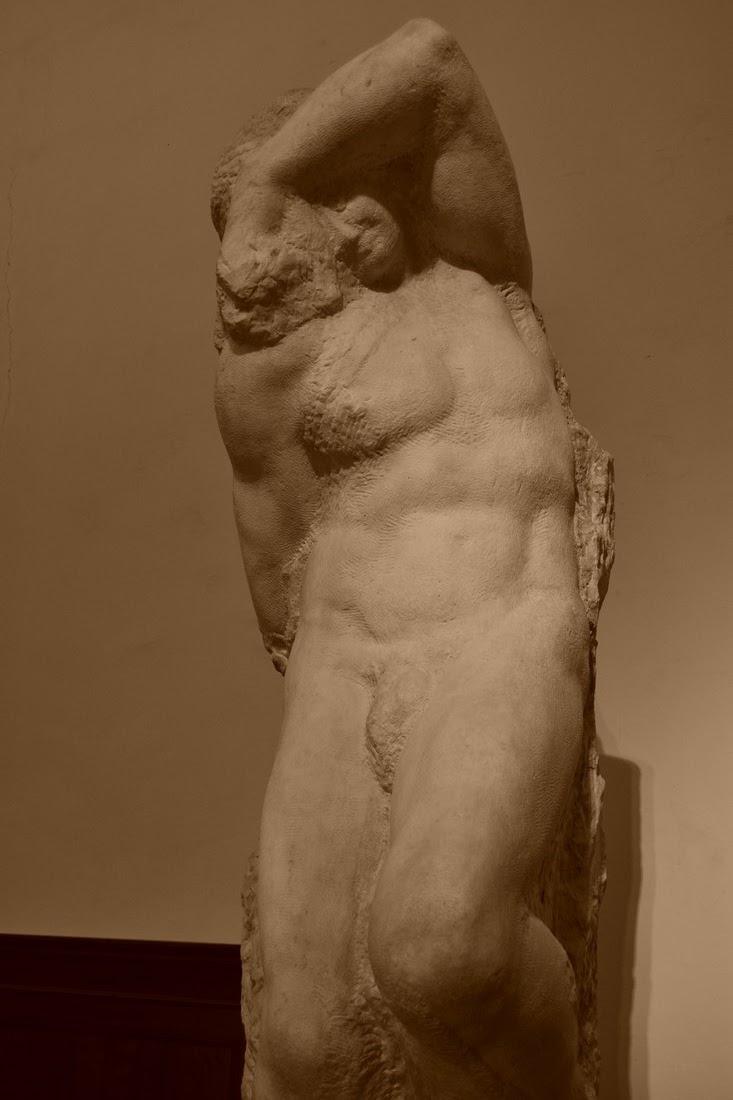 Michel-Ange - jeune esclave - 1525