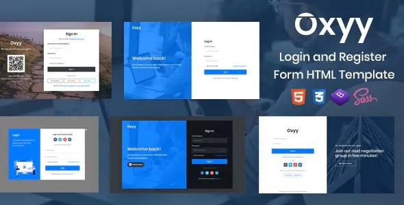 Best Login and Register Form HTML Templates