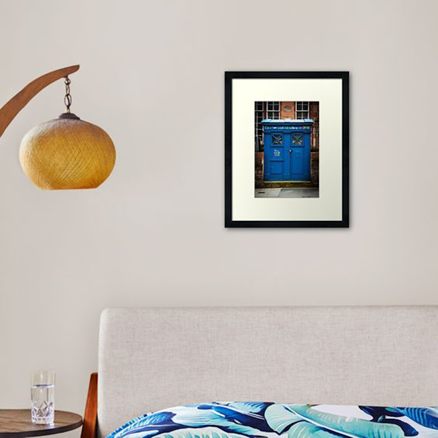 Vertical Art Print Bibliophile Home Decor
