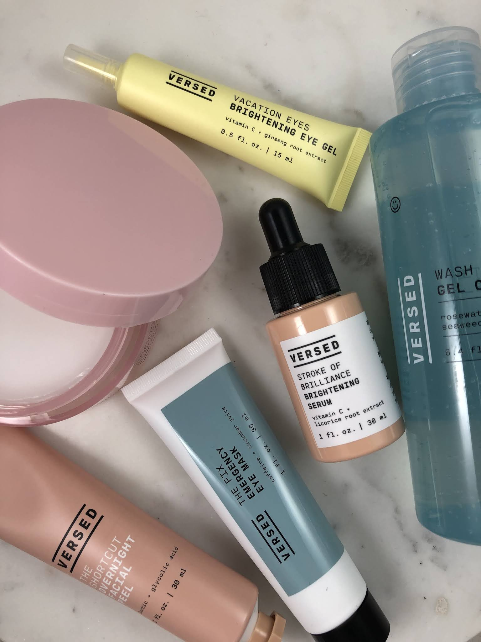 Versed Skincare: A quick review