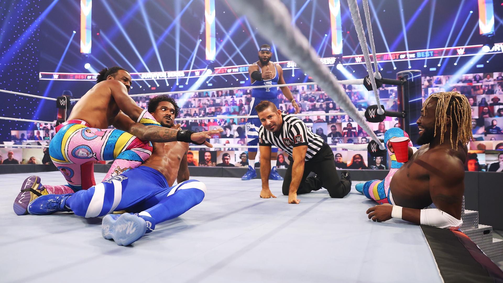 Street Profits superam New Day e voltam a colocar o SmackDown na disputa contra o RAW