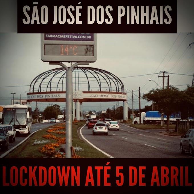 São José dos Pinhais e 10 cidades da RMC fechadas até 5 de abril