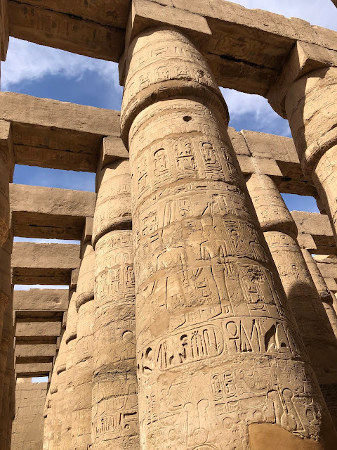Sala hipóstila. Templo de Karnak. Egipto