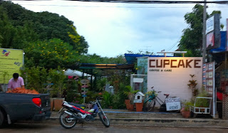 Cup Cake Coffee shop in Phayao