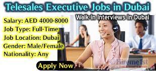 Female Tele Sales Executive Jobs Recruitment in Dubai | Salary AED 2000