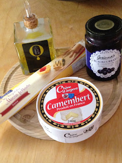 Camembert en hojaldre, ingredientes