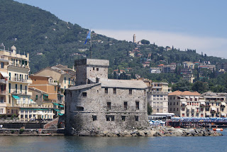 The Castello sul Mare at Rapallo