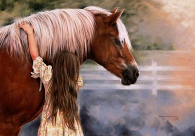 niña-caballo-oleo