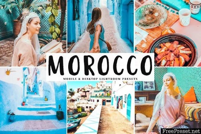 Morocco lightroom presets free download
