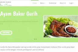 Aplikasi Pemesanan Makanan Online Dengan PHP, MySQLi dan Bootstrap