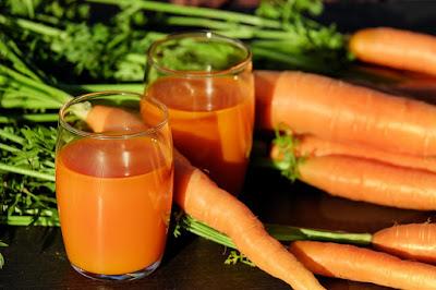 jus jeruk dan wortel