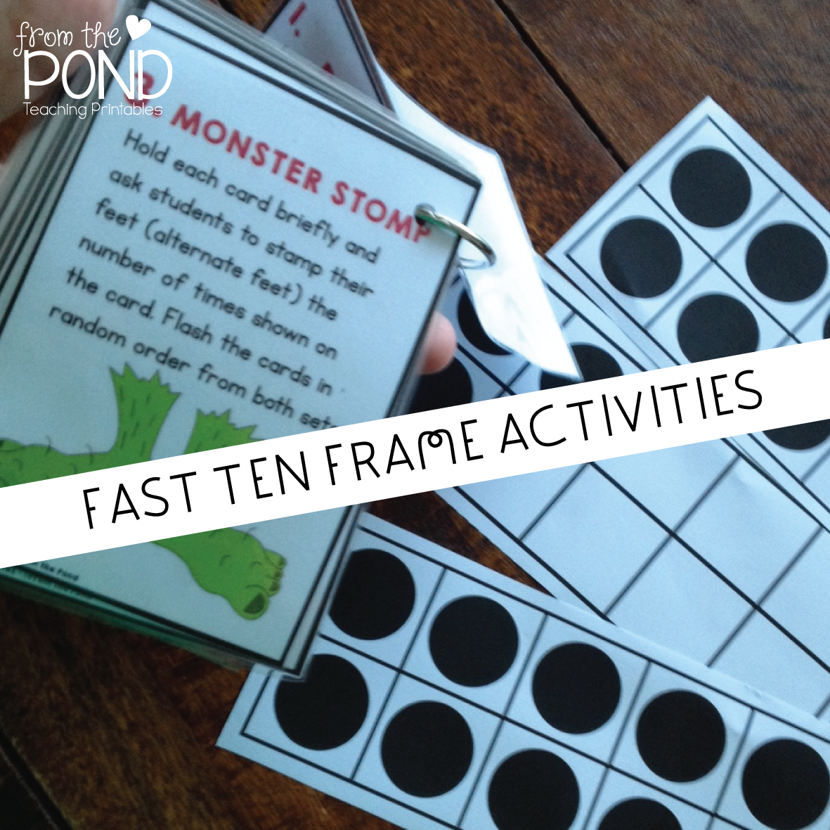 FAST Ten Frame Activities | From the Pond