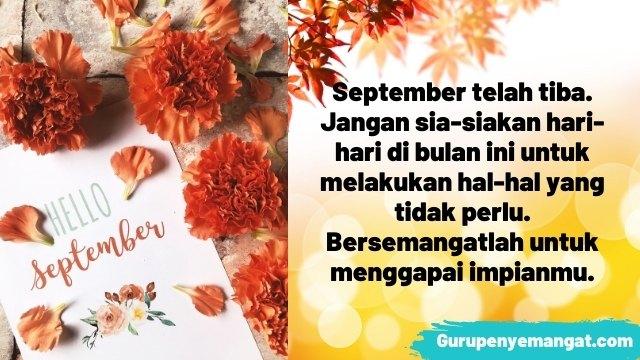 Kata-Kata Movitasi Bulan September 2021 yang Bikin Semangat