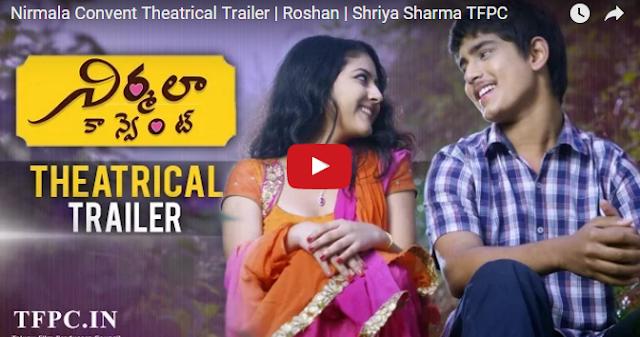 Nirmala Convent Theatrical Trailer | Roshan | Shriya Sharma