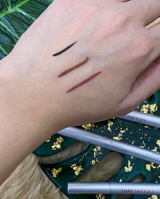 A photo of  K-Palette 1Day Tattoo Procast The Eyeliner Review and swatches