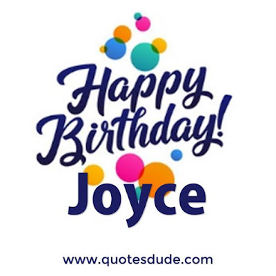 "Images for ""Happy Birthday Joyce""."