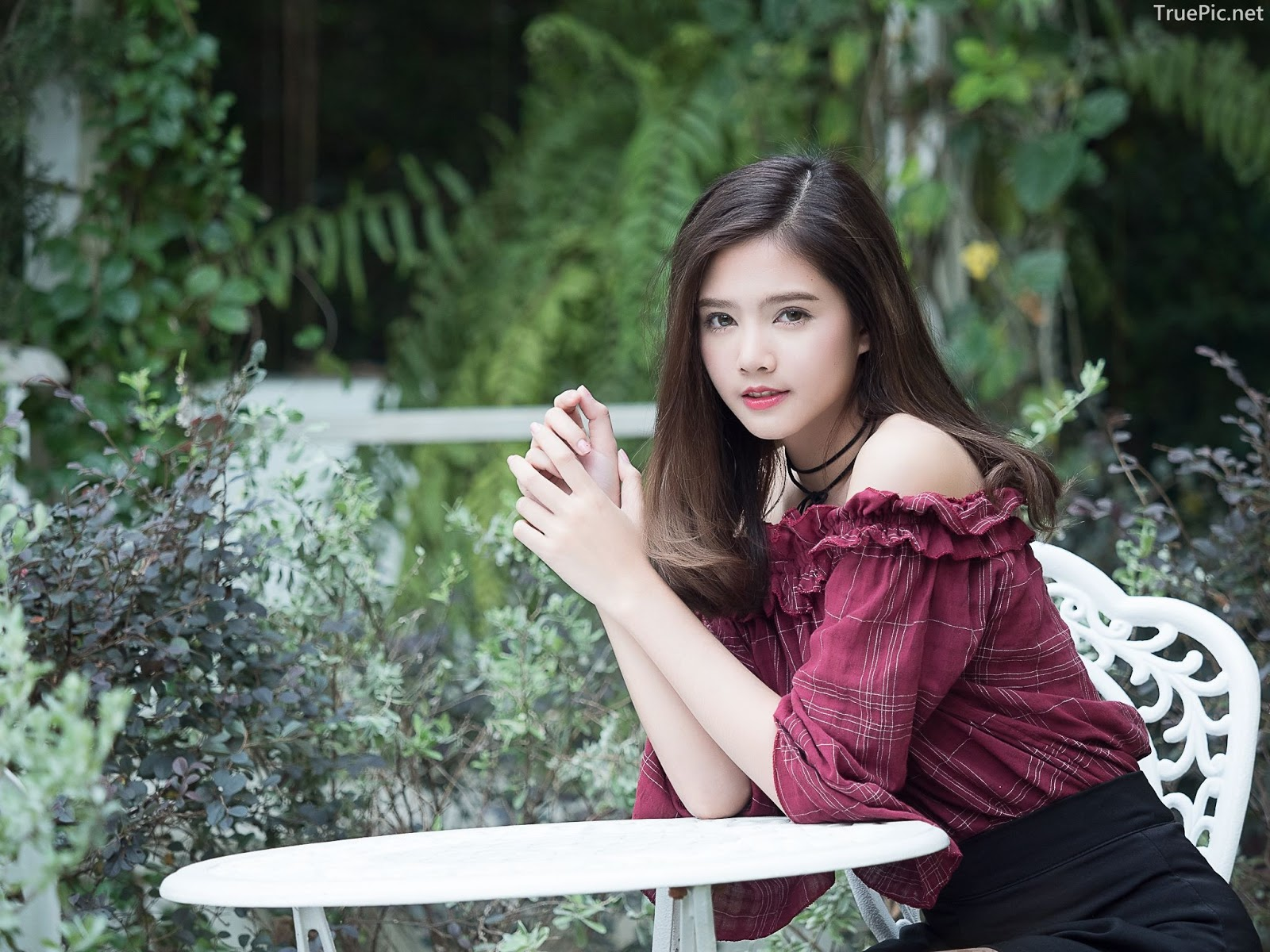Thailand pretty girl Aintoaon Nantawong – The most beautiful flower in the garden - Picture 6