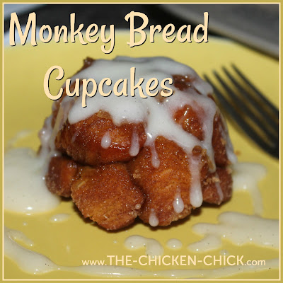 Monkey Bread Cupcakes (Cinnamon Sugar Pull-apart Bread)