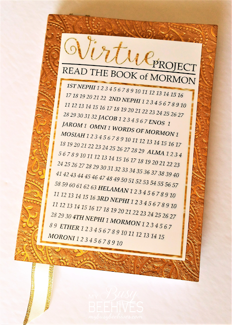 scriptures and reading chart