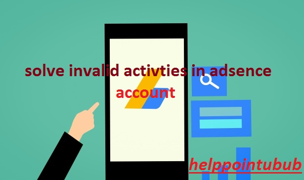 How to fill invalid activity form for disable adsence account